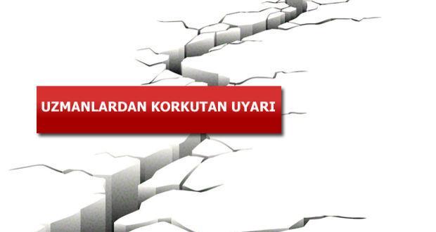 Korkutan Deprem Tablosu: İstanbul , Yalova ve Bursa'da Deprem Tehlikesi