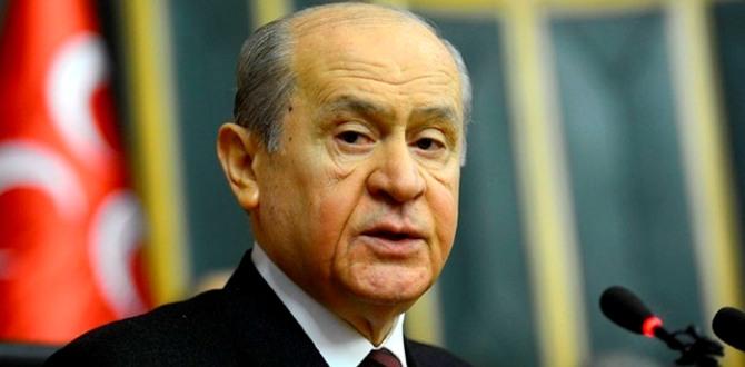 Devlet Bahçeli Parti içi Muhalifler Hakkında Konuştu