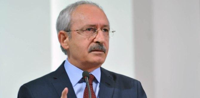Kemal Kılıçdaroğlu, Ahmet Davutoğlu'na Sahip Çıktı