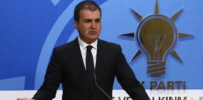 Ak Parti Sözcüsü Ömer Çelik Pelikan Dosyasına Sert Çıktı