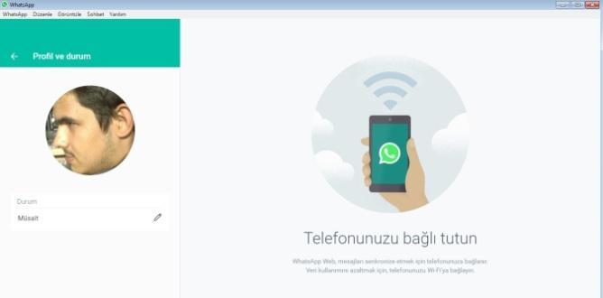 WhatsApp Bilgisayar Masaüstü Uygulaması Çıktı