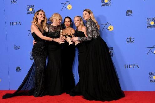 75. Altın Küre Ödülleri, Kadın, Siyah Giyen Adamlar ve Dilek Yardım