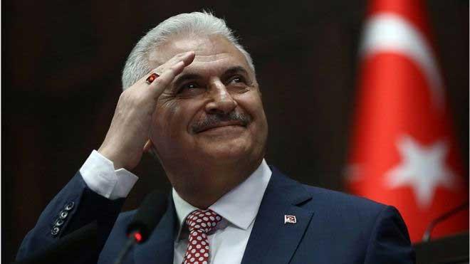 AKP'nin İstanbul Belediye Başkan Adayı Binali Yıldırım